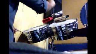 Cover timbal Drums  voy a vivir marck antony  por robi Márquez
