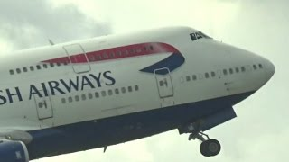 Spotting at London-Heathrow from Terminal 5