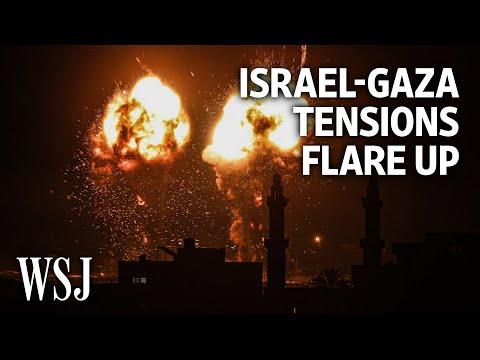 Israeli Airstrikes Hit Gaza After Tensions in Jerusalem   WSJ – Wall Street Journal (YouTube)