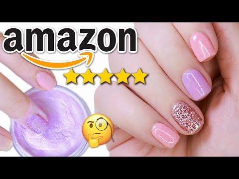DIY TESTING THE #1 DIP POWDER NAIL KIT ON AMAZON PRIME