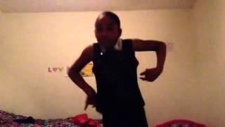"Aniyah dancing to ""Who Booty"""