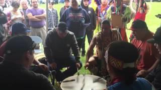 Black Bear singers @ Akwesasne Pow wow 2016 intertribal
