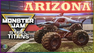 ARIZONA FREESTYLE DESTRUCTION! | Monster Jam Steel Titans