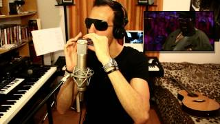 Stevie Wonder - Isn`t She Lovely --- Antonio Honor - Chromatic Harmonica Cover Gaita How To Play