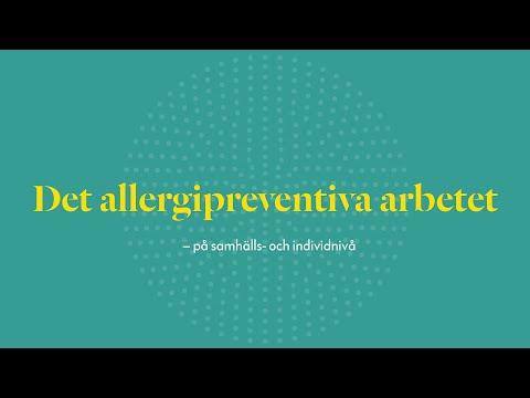 Det allergipreventiva arbetet -- på samhälls- och individnivå