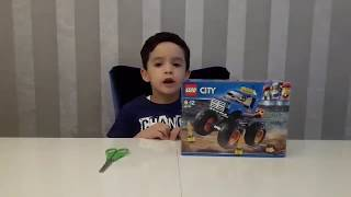 Lego city canavar kamyonu açılımı 60180