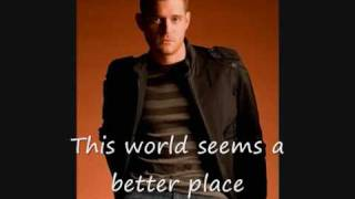 Michael Bublé -Some Kind of Wonderful Lyrics