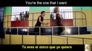 You're the One That I Want-Grease   Letra Español - Ingles