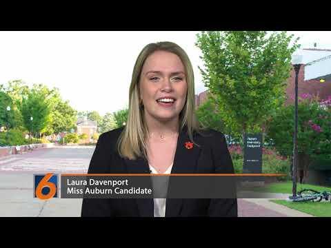 Miss Auburn Candidate: Laura Davenport