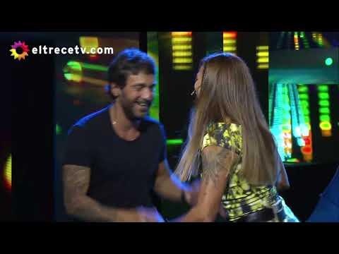 ¡Hay química! Ximena Capristo invitó a bailar rock a Gustavo Conti