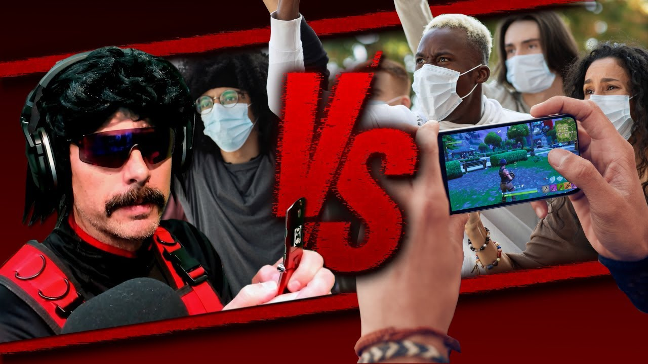 DrDisrespect - DrDisrespect versus the ENTIRE MOBILE GAMING COMMUNITY