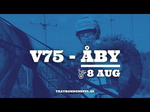 V75 Tips - Åby - 8 augusti 2020