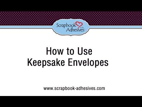 How to Use Keepsake Envelopes