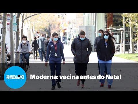 Moderna espera entregar sua vacina antes do Natal