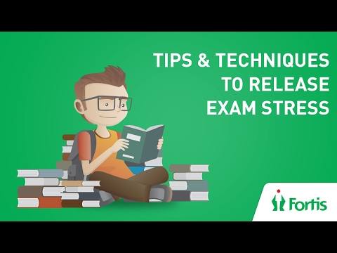 Exam Stress Releasing Tips  and Techniques