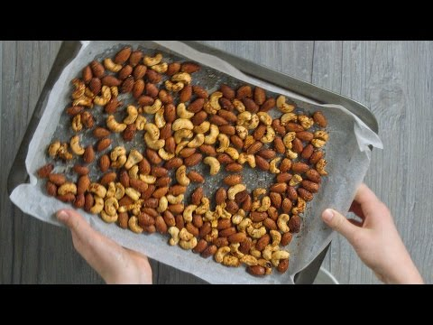 How to Make Paprika Spiced Nuts