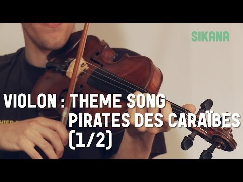 Comment jouer Pirates des Caraïbes au violon
