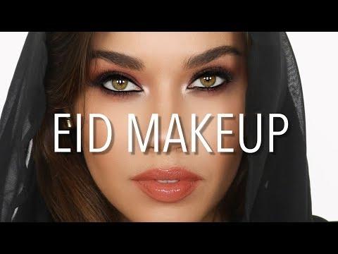 Eid Makeup Tutorial | Arabic Eyes | Eman