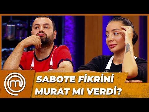 Eda'dan Murat Hakkında Çarpıcı İddialar | MasterChef Türkiye