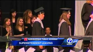 Albuquerque Public Schools: Superintendent Leaving