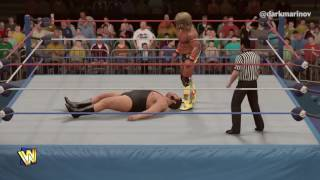 WWE 2K17: Andre The Giant vs. The Ultimate Warrior
