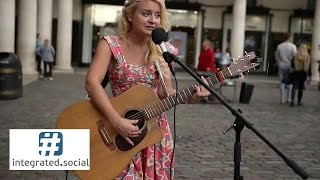 Live Street performance Jessie J Price Tag Guitar Cover Sammie Jay