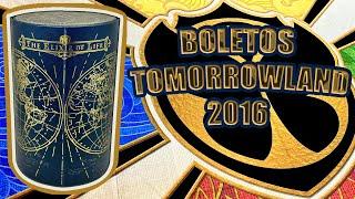 "Unboxing Treasure Case Tomorrowland 2016 - "" Tickets/Bracelet TML Belgium 2016"""