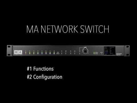 MA Network Switch Tutorial - English