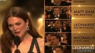 Leonardo Dicaprio wins The Oscar - We Are The Champions - Queen