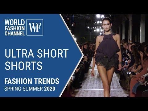 Ultra short shorts | Fashion trends 2020
