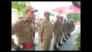 15/07/15 Corpo de Bombeiros de Sorriso recebe 10 novos soldados que reforçarão o efetivo
