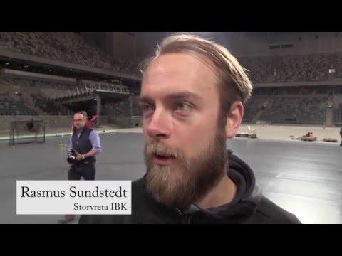 SM-finalen 2016: Golvtest i Tele2 Arena