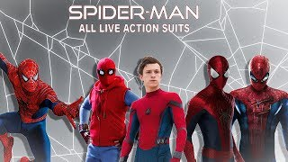 All live action Spider-Man Suits (1977-2017)