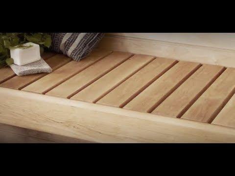 Näin suojaat saunan lauteet Supi Laudesuojalla. Lue lisää www.tikkurila.fi/supilaudesuoja