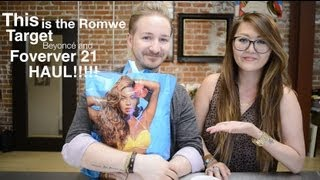 annaleeandjesse – HAUL : Romwe, Forever 21, H&M, Sephora and Target!