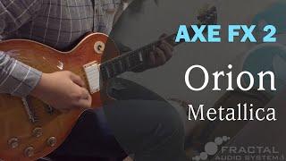Metallica - Orion guitar cover