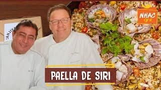 Paella de siri com vieiras e molho de tomate caseiro   Claude Troisgros e Batista   Que Marravilha!