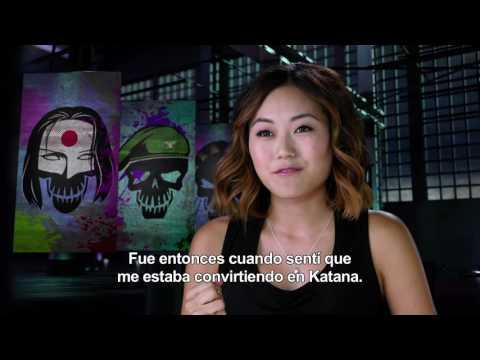 Escuadr�n Suicida - Entrevista a Karen Fukuhara HD