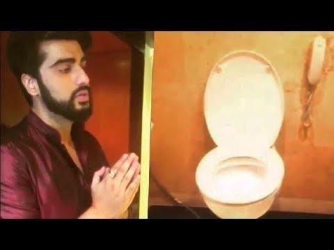 Arjun Kapoor Promotes Toilet: Ek Prem Katha!