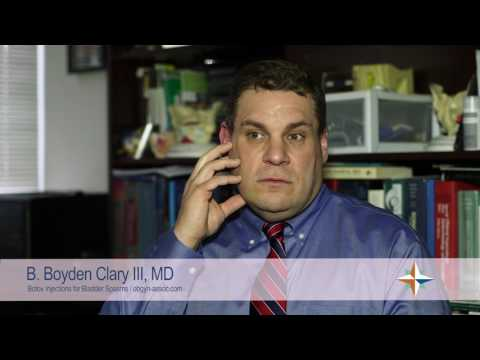 HCA VA Physicians – Dr. Boyd Clary, III, - Bladder Spasms