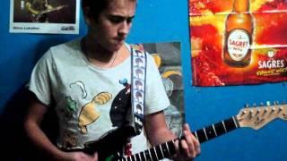 Xutos e Pontapés-Não Sou O Único (Electric Guitar Cover)