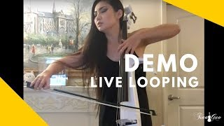 Tina Guo: Live Looping & Donner Delay Pedal Demo
