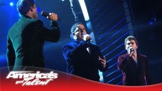 """Forte - Operatic Tenor Group Performs """"Somewhere"""" - America's Got Talent 2013"""