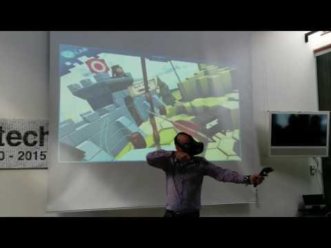 Next gen Virtual Reality demo at Valtech Copenhagen