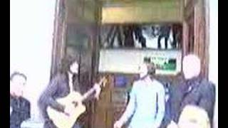 Kasabian Play Processed Beats Acoustic in Bank