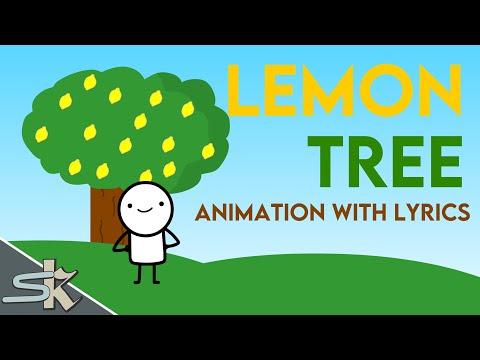 LEMON TREE ANIMATION WITH LYRICS - YouTube