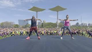 New Choreography To Electronic Track 'Fogo'