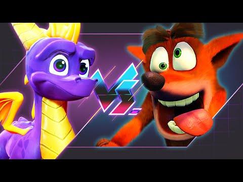 Spyro Vs. Crash - Which Is Better? | Versus