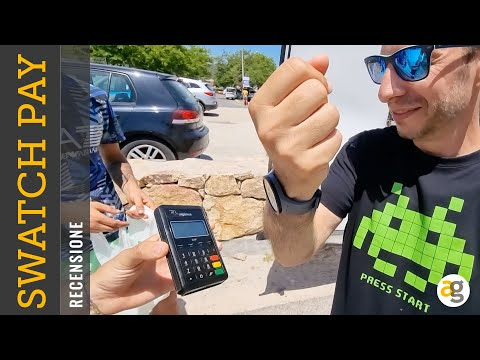 Lo SWATCH Tecnologico! TEST SwatchPAY