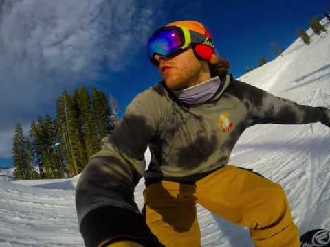 GoPro Selfie Park Session on Boreal Mountain with Tim Humphreys